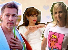 Rixa entre Angelina Jolie e Charlize Theron, nova namorada de Brad Pitt, vem de longa data… Vem!