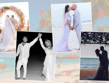 Casamentos chics e despojados na praia são a cara do verão de 2019. Vem saber!