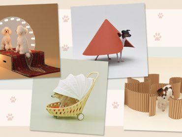 Casas de cachorros criadas por top arquitetos ganham exposição na Japan House. Aos detalhes!