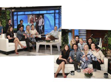 """Elenco de """"The Big Bang Theory"""" quase cai no choro durante entrevista sobre última temporada da série"""
