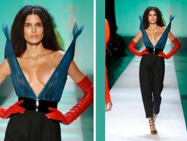 Raica Oliveira retorna às passarelas da semana de alta costura em Paris