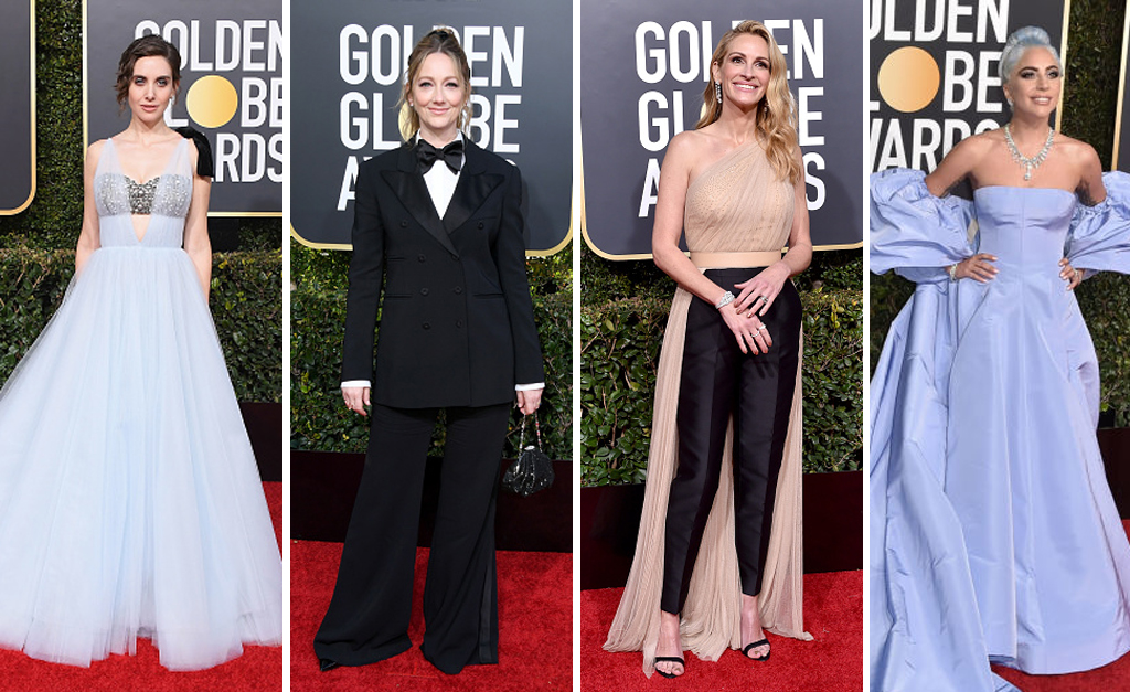 67319467f Alison Brie, Judy Greer, Julia Roberts e Lady Gaga || Créditos: Getty Images