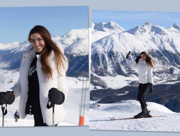 Iara Jereissati comemora título de embaixadora deSt. Moritz com viagem ao destino