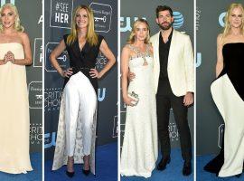 Tapete vermelho do Critics' Choice Awards 2019 é dominado por looks brancos e pretos