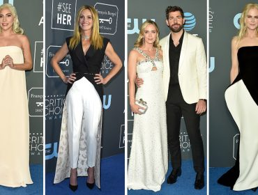 10836cdb325 Tapete vermelho do Critics  Choice Awards 2019 é dominado por looks brancos  e pretos
