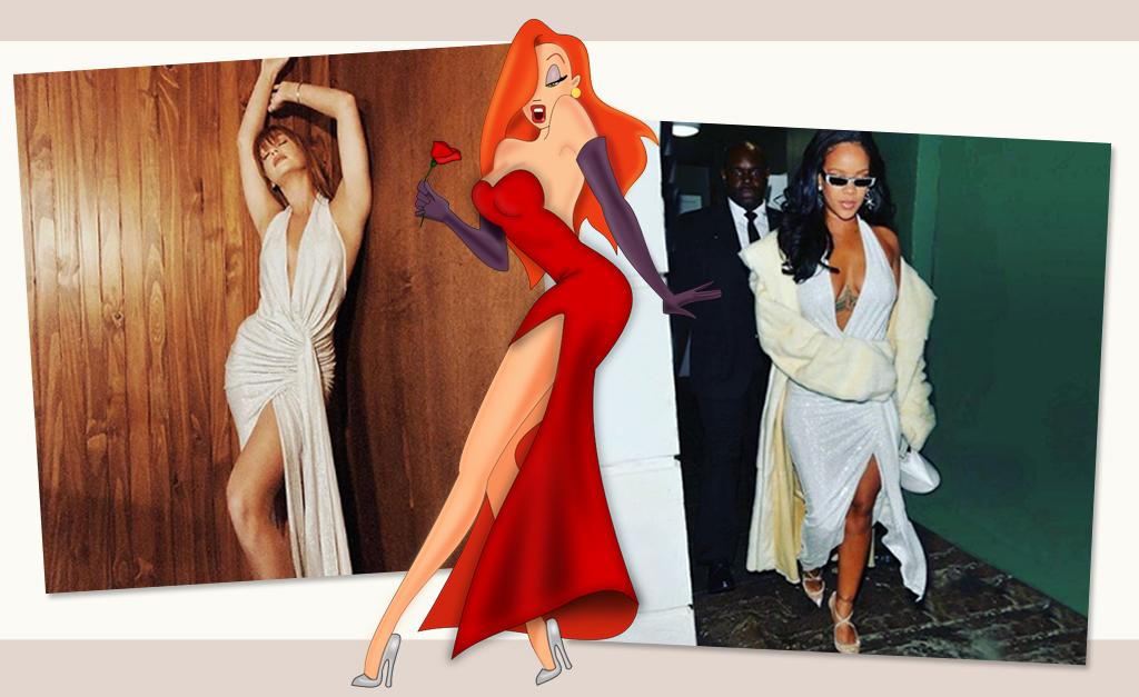f3b36d5991a40 Marina x Jessica Rabbit x Rihanna    Créditos  Reprodução Instagram. Marina  Ruy Barbosa viveu um ano de ...