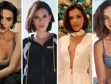 Hora de passar a tesoura: corte de cabelo de Bruna Marquezine viraliza entre as famosas