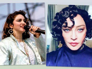 Madonna surgiu morena e causou! Mas a Rainha do Pop nunca foi mulher de um cabelo só. Dá uma conferida!