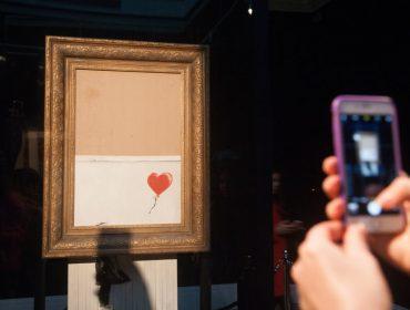 Obra triturada de Banksy ficará em museu da Alemanha, mas os visitantes terão que procurá-la… Oi?