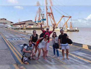 Fábio Assunção viaja ao Pará acompanhado de nova namorada e revela talento fotográfico