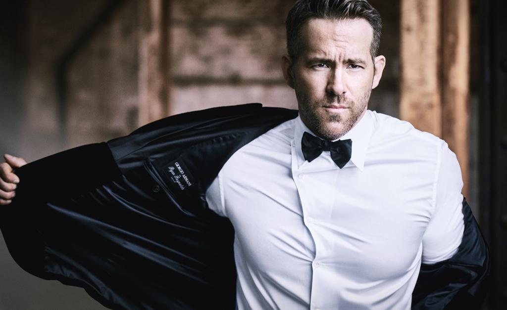 a1a7a70099ec4 Giorgio Armani anuncia Ryan Reynolds como novo rosto da linha Armani Code