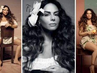 Viviane Araújo é a estrela da revista J.P e mostra a que veio em ensaio inspirado nas musas Gabriela e Dona Flor de Jorge Amado