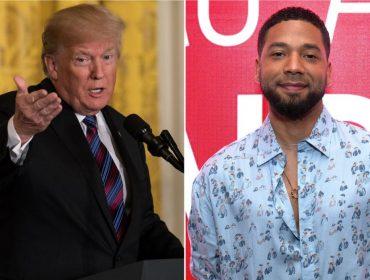 """Trump sobre o ataque ao ator Jussie Smollett: """"Isso tudo é horrível, não tem como piorar"""""""