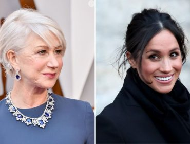 """Helen Mirren, que viveu a rainha na telona, opina sobre Meghan Markle: """"Incrivelmente controlada e humana"""""""