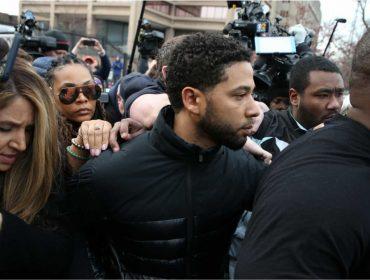 """Em conversa com colegas de elenco em """"Empire"""", Jussie Smollett afirma que é inocente"""
