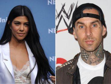 Kourtney Kardashian e Travis Barker foram flagrados saindo juntinhos de um restô de LA