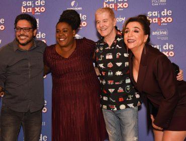 """Pré-estreia de """"Sai de Baixo"""" reúne famosos no Iguatemi São Paulo"""