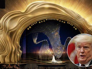 Para galera do Twitter, haviam muitas semelhanças entre o penteado de Trump e o palco do Oscar… Entenda!
