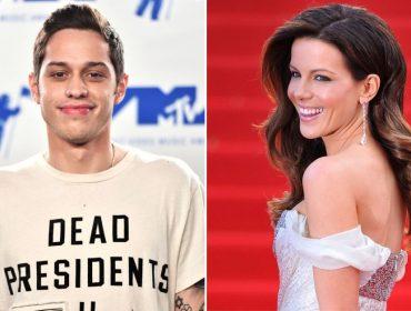 """""""thank u, next"""": tudo indica que o novo amor de Pete Davidson, ex de Ariana Grande, é Kate Beckinsale"""