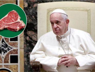 Papa Francisco pode receber R$ 3,7 mi se seguir uma dieta vegana durante a quaresma… Oi?