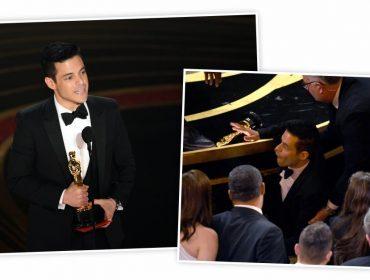 Vencedor do Oscar de Melhor Ator, Rami Malek foi parar na enfermaria logo depois de receber o prêmio