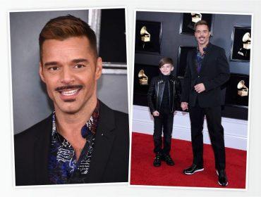 Ricky Martin aparece mais magro e de bigodinho no Grammy, e divide opinião dos fãs