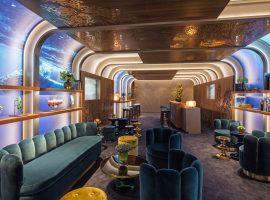 Rolex transforma Greenroom do Oscar em viagem ao fundo do mar