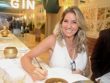 """Thaya Marcondes lançou livro """"Grazie, Toscana"""" no G&T Bar, nessa quinta-feira"""
