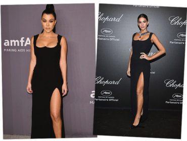 Kourtney Kardashian e Bruna Marquezine: quem vence esse duelo fashion geométrico?