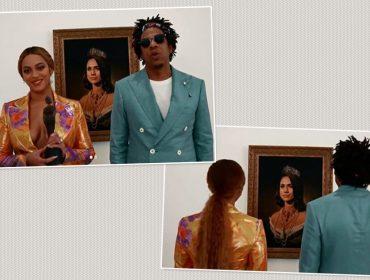 """Meghan Markle faz """"aparição bizarra"""" durante o vídeo de Beyoncé e Jay-Z no Brit Awards. Oi?"""