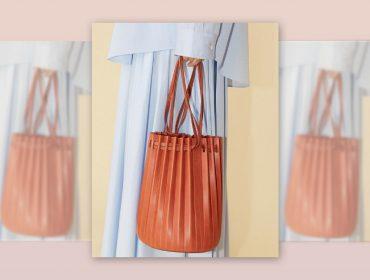 Desejo do Dia:bolsa plissada a mão do designer Mansur Gavriel