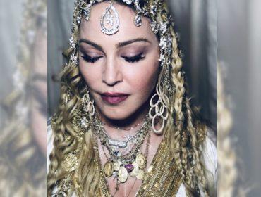 Madonna usa joia de design brasileiro para compor look na festa pós-Oscar