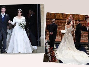 Looks usados pela princesa Eugenie e Jack Brooksbank em sua subida ao altar serão expostos ao público