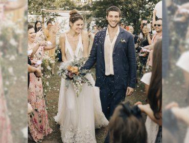 Os melhores momentos do casamento intimista de Laura Neiva e Chay Suede…