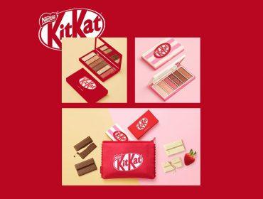 KitKat vira paletas de sombras e mania entre as asiáticas. Aos detalhes!