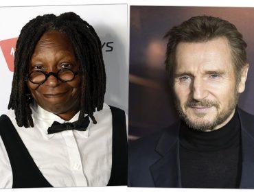 Whoopi Goldberg defende Liam Neeson de acusações sobre preconceito: 'Ele não é racista'