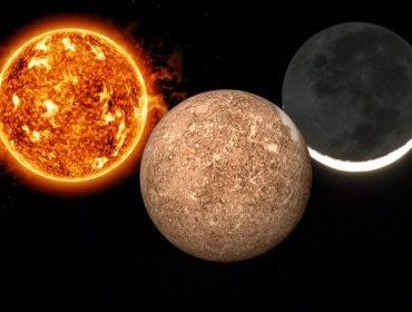 Sol e lua unidos a Mercúrio prometem semana com inteligência e percepção aguçadas