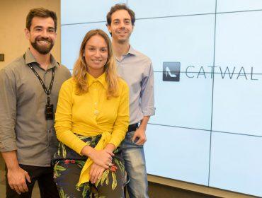 Lançamento do Catwalk App juntou gente da moda e empresários nessa quarta em SP