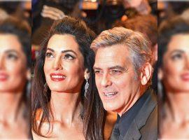 Revista neozelandesa afirma que Amal e George Clooney estão grávidos, e mais uma vez de gêmeos