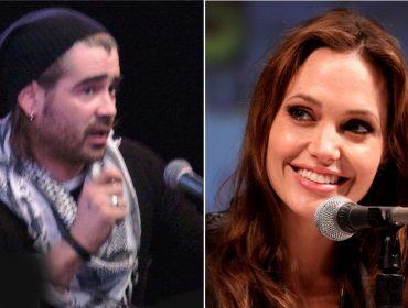 Zunzunzum em Hollywood: o comentário por lá é que Angelina e Colin Farrell estão se conhecendo melhor