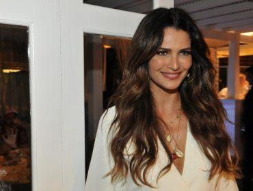 Nesse domingo, Fernanda Motta foi a anfitriã da festa Tropical Paradise no Cafe de La Musique Floripa