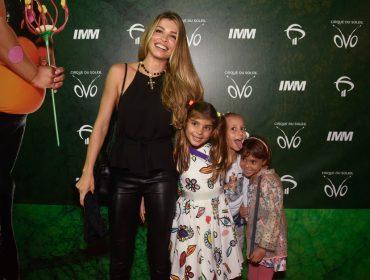 Estreia do espetáculo OVO do Cirque du Soleil leva celebs à Jeunesse Arena, no RJ