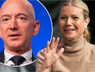 Gwyneth Paltrow finalmente recebe uma resposta de Jeff Bezos, com quem tenta contato há anos