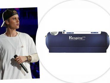 Justin Bieber só quer saber de dormir em câmara de oxigênio de quase R$ 46 mil. Oi?