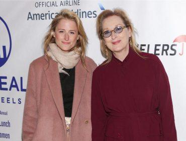 Filha de Meryl Streep deu à luz um menino nessa quinta, o primeiro neto da veterana da telona