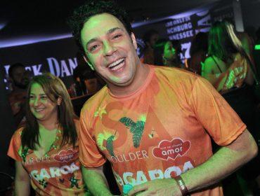 Camarote DaGaroa marca presença no sambódromo de São Paulo nessa sexta