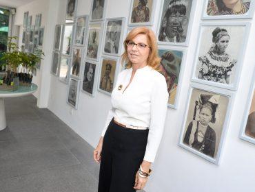 Regina Pinho de Almeida recebe para inauguração da Casa do Parque