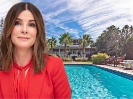 Sandra Bullock coloca casa de praia localizada em ilha dos EUA à venda por R$ 25 mi