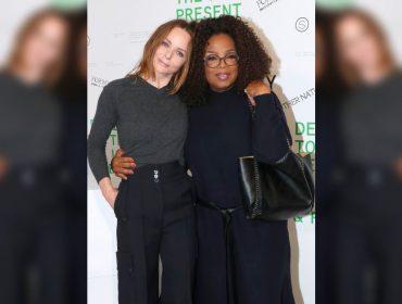 Oprah rouba a cena em desfile da bff Stella McCartney na Semana de Moda de Paris