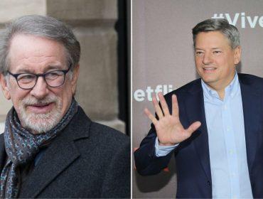 """Em pé de guerra, Spielberg e diretor da Netflix são vistos """"discutindo a relação"""" em LA"""